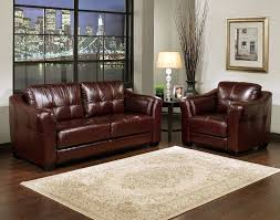 Burgundy Leather Sofa Set Burgundy Leather Sofa Armchair Set Like The Wall Color