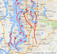 Earthquake Map Seattle by Mt Rainier Can Cause Huge Tsunamis As Well As Lahar Floods