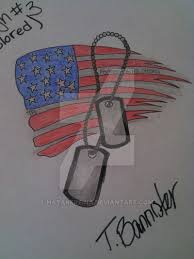 the 3rd and final dog tag tattoo design by hatakereina on deviantart