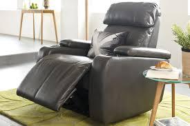 plain recliner chairs with fridge rocker decor