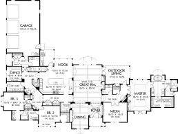 luxury ranch floor plans luxury floor plans one story homes zone
