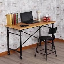 Ergonomic Home Office Desk Desk Wood And Metal Computer Desk Ergonomic Computer Desk