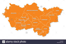 Essen Germany Map by Outline Map Germany Stock Photos U0026 Outline Map Germany Stock
