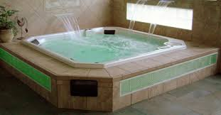custom spa tub installation