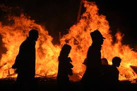 halloween bonfire halloween around world jpg