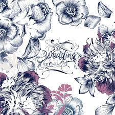 Wedding Design Floral Wedding Design Vector Premium Download