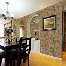 popular brick stickers buy cheap brick stickers lots from china 3d wall paper brick stone rustic effect decoration self adhesive stickers removable wall stickers bedroom