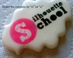 cameo cookies where to buy cutting cookie stencils with silhouette silhouette school