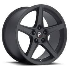 mustang replica wheels 4 18x9 18x10 5x4 5 5x114 3 mustang saleen 24 30 matte black