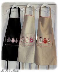 tuto tablier cuisine tablier de cuisine couture les 25 meilleures id es concernant
