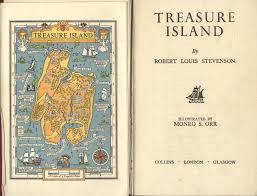 Treasure Island Map Treasure Island Monro Orr