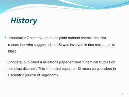 Plant Disease Journal - avs role of silica in plant disease management