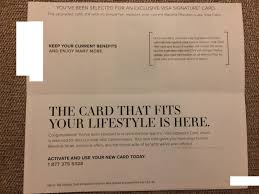 invite only gap visa signature card up 3x everywhere