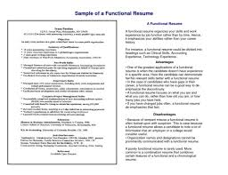Combination Resume Template Word Functional Resumes Template Saneme
