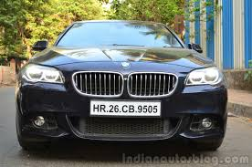 review bmw 530d 2014 bmw 530d m sport review front angle indian autos