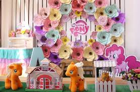 my pony centerpieces kara s party ideas my pony pastel birthday party kara s