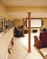 basement wrap pole wrap 96 in x 12 in oak basement column cover column covers