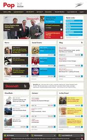 design home page online 70 best ux intranet homepage images on pinterest sharepoint