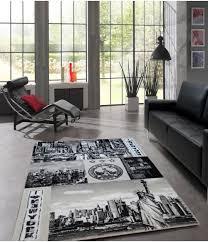 jugendzimmer teppich new york jugendzimmer 21002 996 black grey