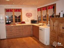 cuisine chalet montagne location chalet à chamonix mont blanc iha 47769
