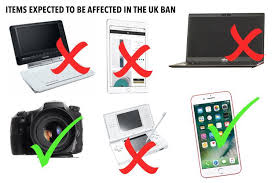 what is the uk laptop ban on flights which countries are affected