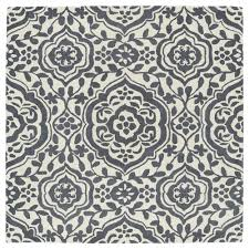 Evolution Area Rugs Kaleen Evolution Grey 5 Ft 9 In X 5 Ft 9 In Square Area Rug