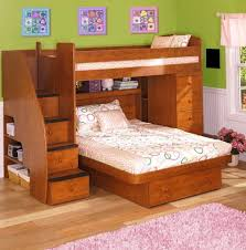 Stairs For Bunk Bed L Shaped Bunk Beds With Stairs Home Design Ideas
