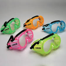safety goggles large assorted colors value pack of 10