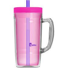 Mug Without Handle by Bubba 32 Oz Envy Mug Pink Walmart Com