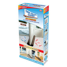 Shop Amazon Com Window Double by Amazon Com Twin Draft Guard Extreme In Brown Energy Saving