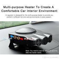heater and fan in one 2018 new 150w 12v car heater fan defroster dashboard cigarette