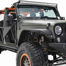jeep wrangler tj light bar 07 16 jeep wrangler jk 50 led light bar mount kit