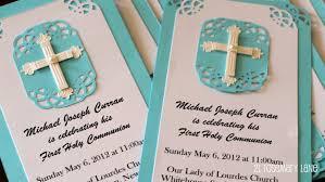 Invitation Cards Handmade 21 Rosemary Lane Handmade First Communion Invitations With Tutorial