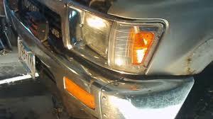 1990 toyota pickup tail light lens headlight replacement 1989 toyota pickup youtube