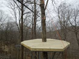 a look back at the construction of sbct shawnee bluffs canopy tour