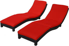 Cushions For Outdoor Chaise Lounges Coast Modern Living Outdoor Chaise Lounge Chairs W Cushions