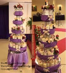 wedding cake bogor wedding cake and cupcake tower bogor darrel cakes bogor