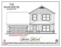 new home floor plans and prices the manchester floor plans kevin kirsch homes
