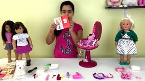 cute hairstyles for our generation dolls our generation salon chair hot pink review youtube