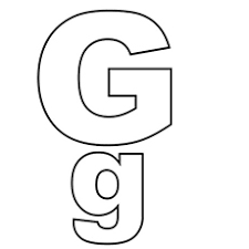 lowercase letter g coloring page top 25 free printable letter g coloring pages online