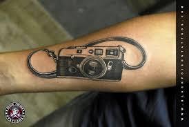 vintage camera tattoo black poison tattoo studio