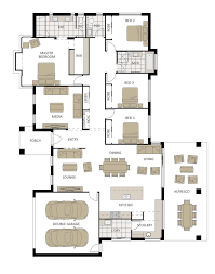 Metricon Floor Plans Single Storey by Spring Mountain Acreage Land For Sale