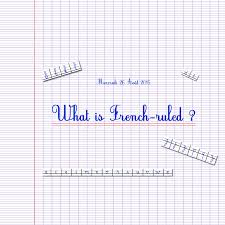 printable horizontal lined writing paper what is french ruled paper and the seyes grid system