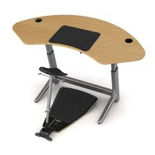 Leaning Chair Standing Desk by Focal Upright Sphere Bundle Sit Stand Workstation U2013 Standing