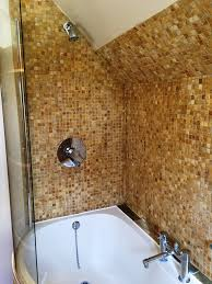 tumbled marble mosaic bathroom refresh kidlington oxfordshire