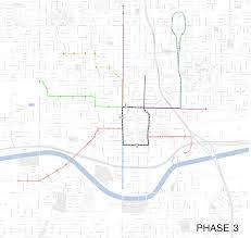 Okc Map Modern Streetcar Okc U2013 Andrew Stewart