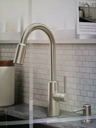 moen kitchen faucets reviews moen 87066srs nori spot resist stainless 1 handle pull sink