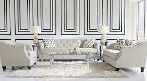 Sofa For Dining Table by Sofia Vergara Furniture Collection