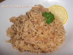 cuisine avec du riz riz pilaf cuisiné comme maman épices et gourmandises