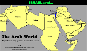 arab countries map arab countries a with a view